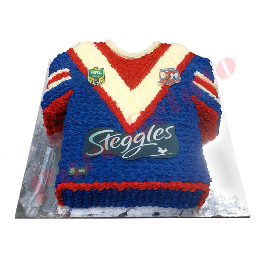 Sports Jersey Cakes