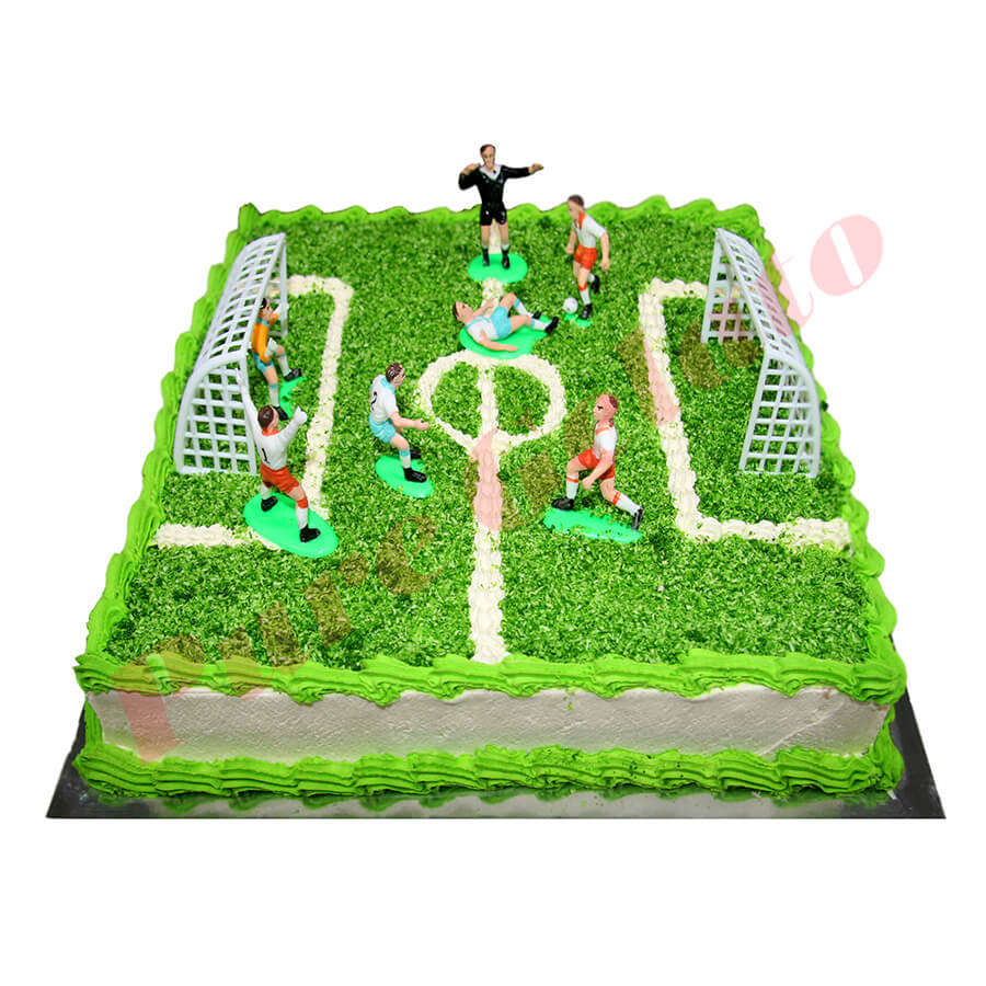 Sports Field Cakes