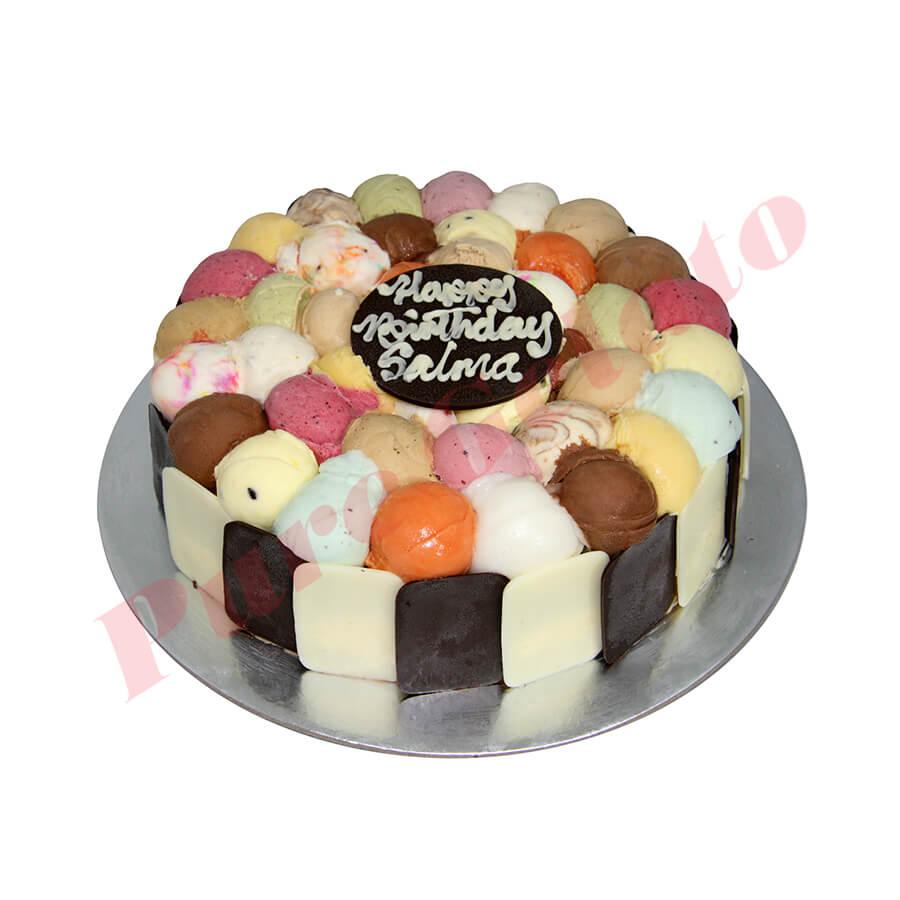Scoop Choc Sides Cakes