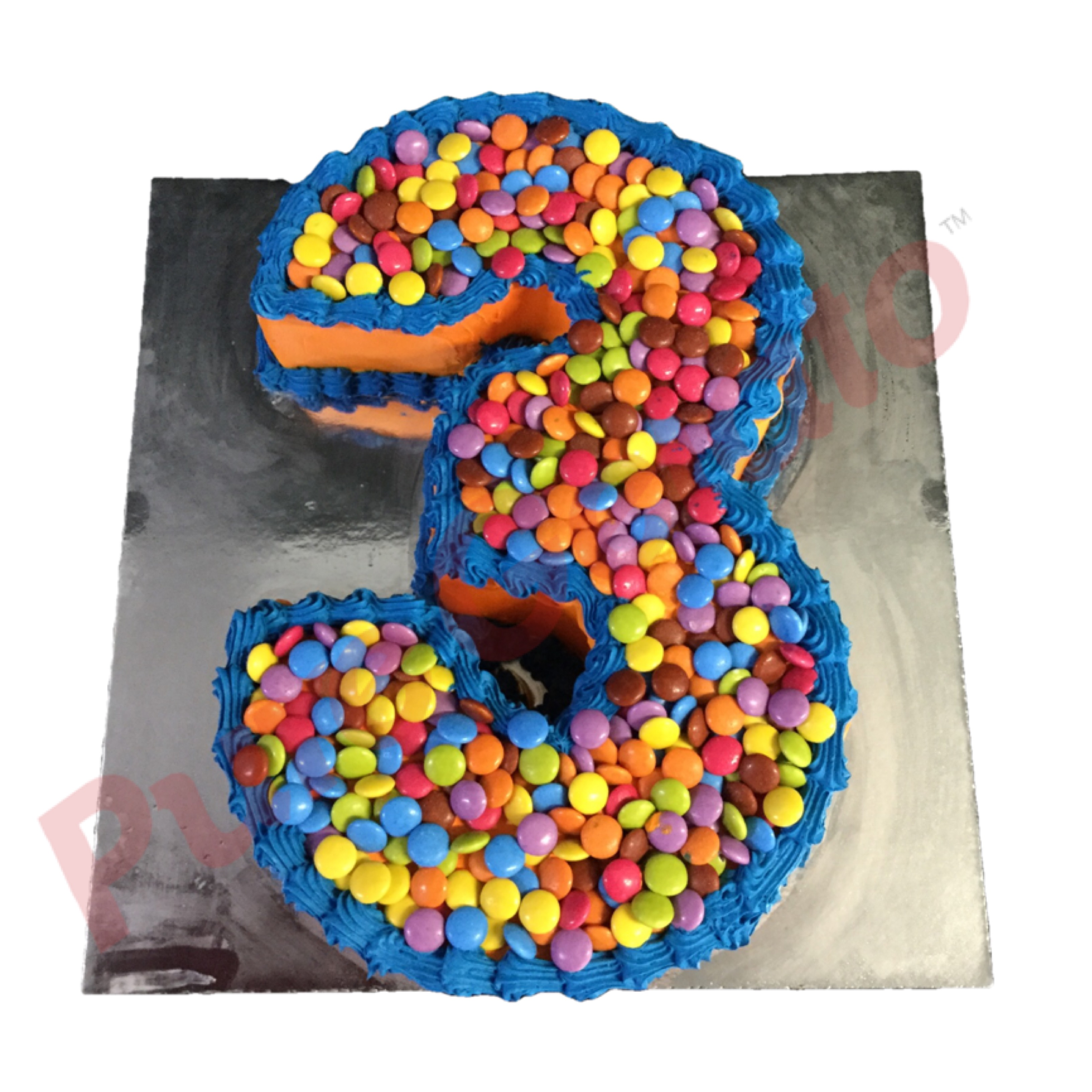 Numeral Cakes (Single)