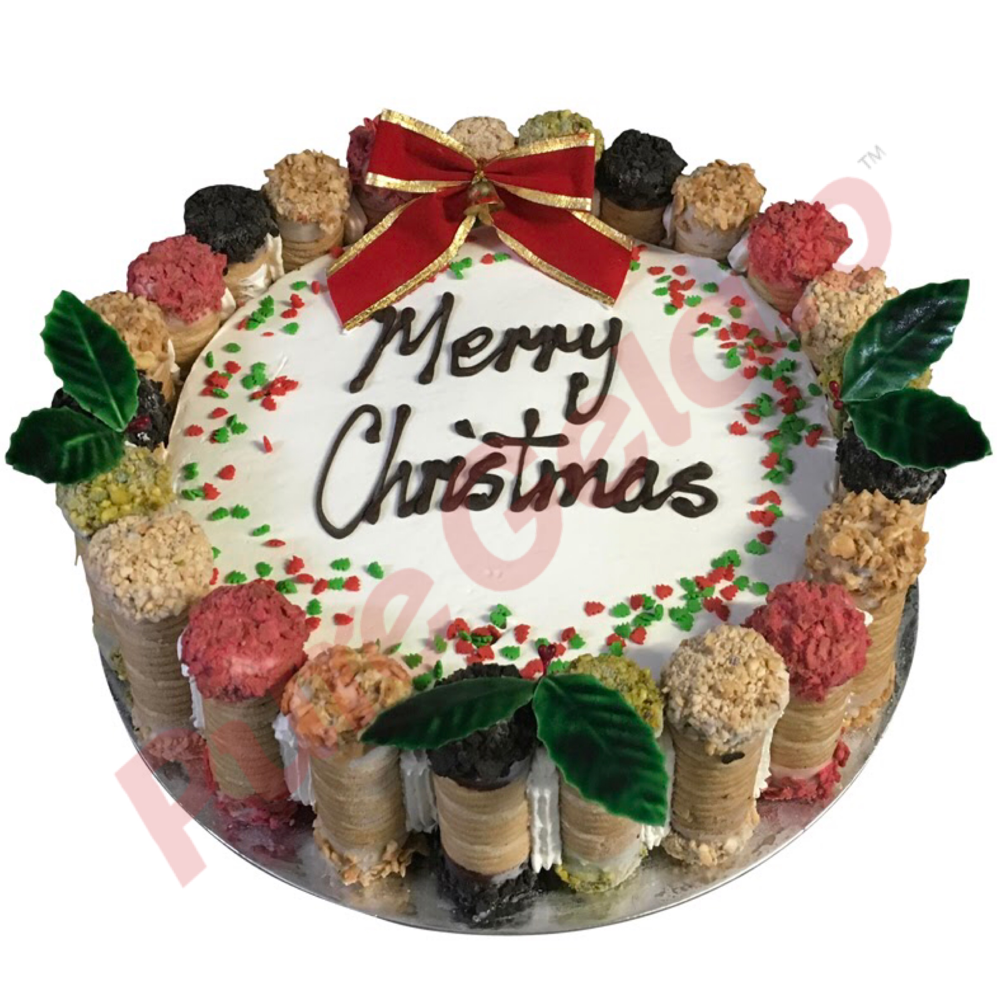Christmas and New Year Cakes
